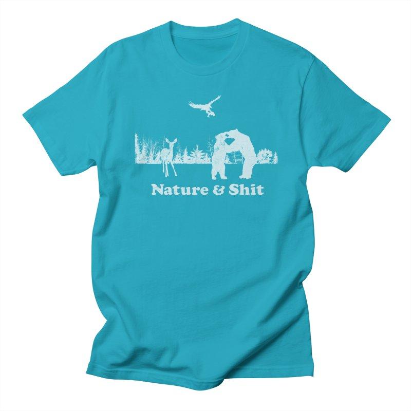 Nature & Shit Women's Regular Unisex T-Shirt by Jerkass