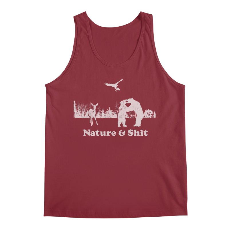 Nature & Shit Men's Tank by Jerkass