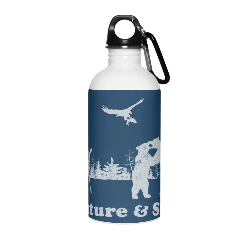 Nature & Shit Accessories Water Bottle by Jerkass Clothing Co.