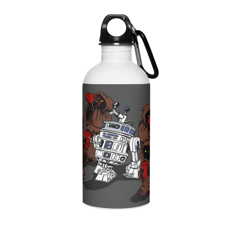 Tap That Droid Accessories Water Bottle by Jerkass Clothing Co.
