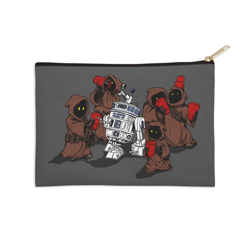 Tap That Droid Accessories Zip Pouch by Jerkass Clothing Co.