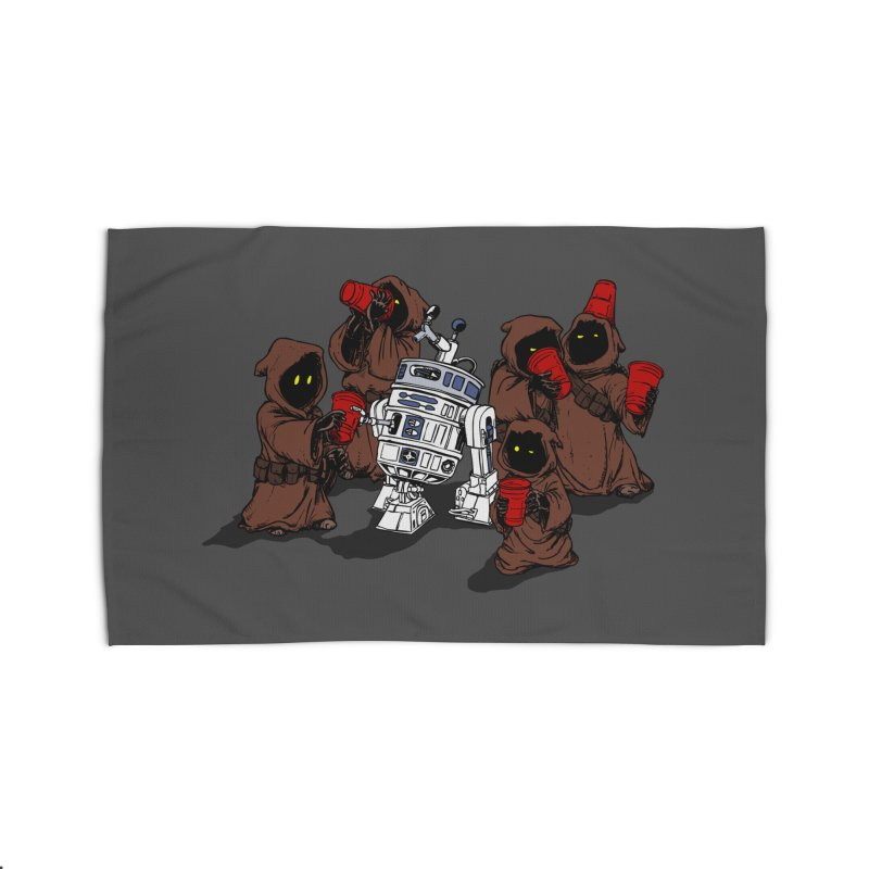 Tap That Droid Home Rug by Jerkass Clothing Co.