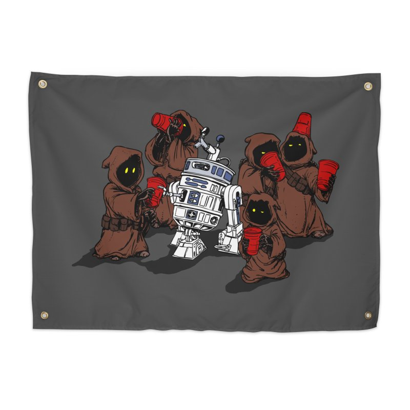 Tap That Droid Home Tapestry by Jerkass Clothing Co.