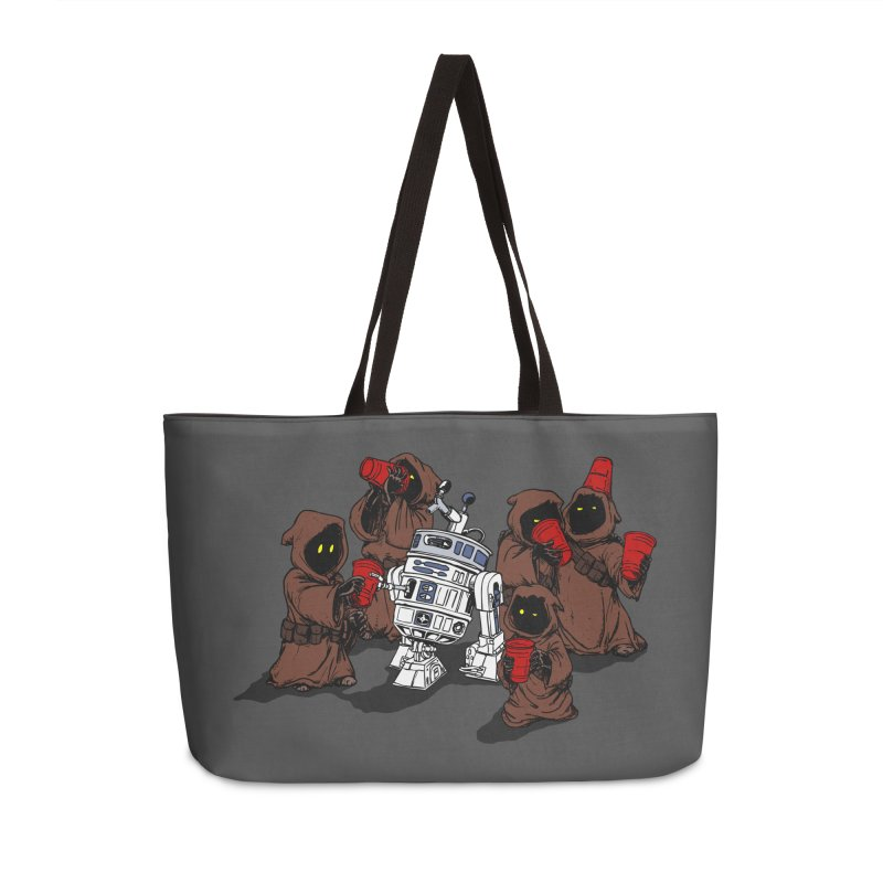 Tap That Droid Accessories Weekender Bag Bag by Jerkass Clothing Co.