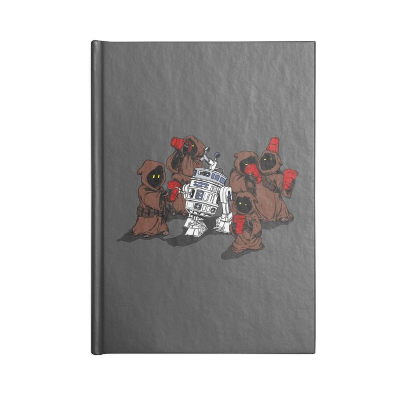 Tap That Droid Accessories Blank Journal Notebook by Jerkass Clothing Co.