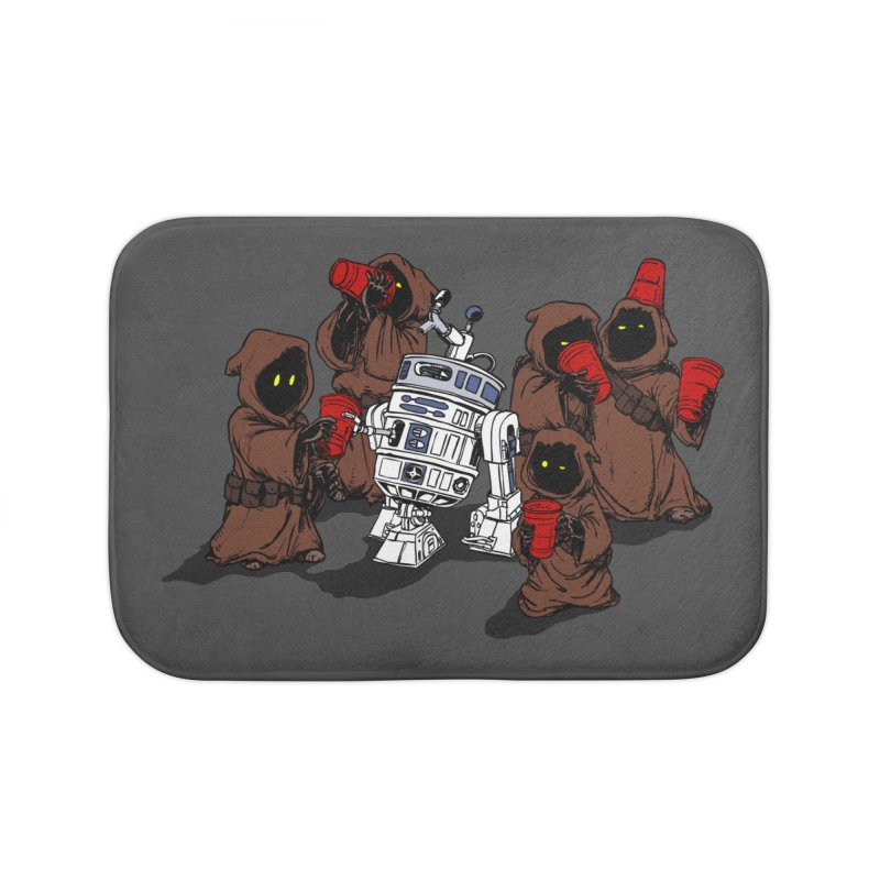 Tap That Droid Home Bath Mat by Jerkass Clothing Co.