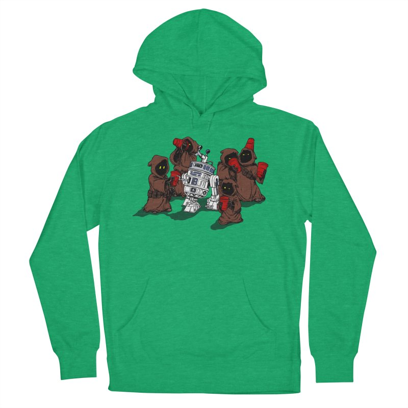 Tap That Droid Women's French Terry Pullover Hoody by Jerkass Clothing Co.