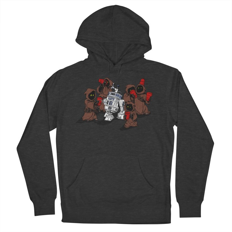 Tap That Droid Men's French Terry Pullover Hoody by Jerkass Clothing Co.
