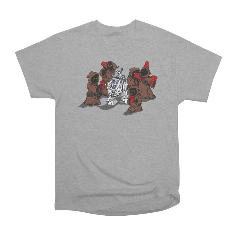 Tap That Droid Women's Heavyweight Unisex T-Shirt by Jerkass Clothing Co.