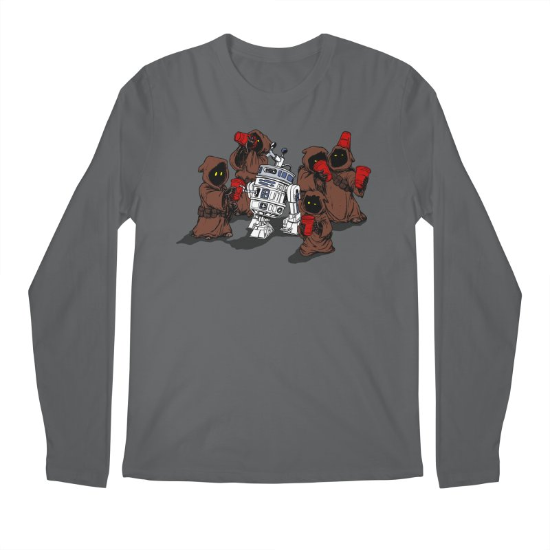 Tap That Droid Men's Longsleeve T-Shirt by Jerkass Clothing Co.
