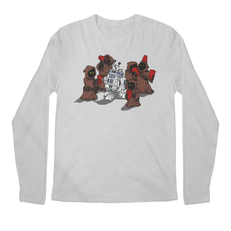 Tap That Droid Men's Regular Longsleeve T-Shirt by Jerkass Clothing Co.