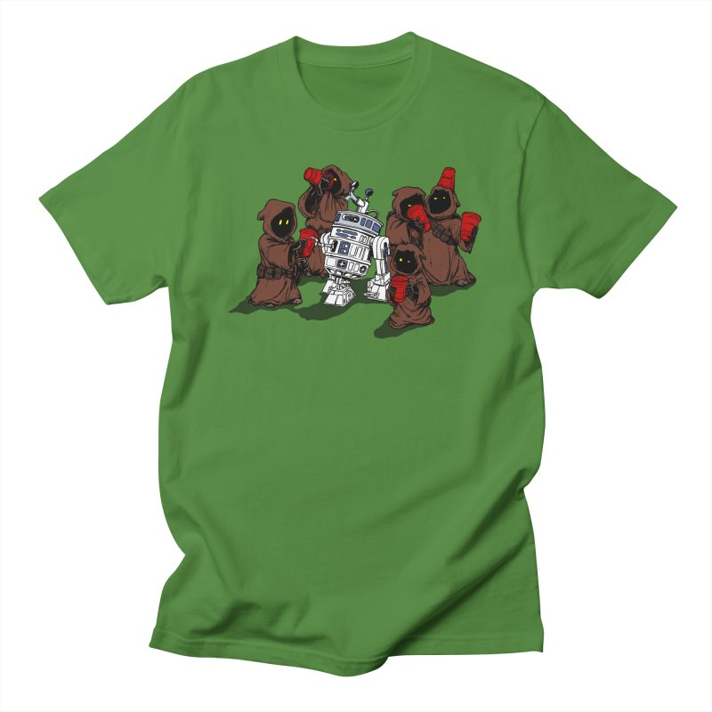 Tap That Droid Men's Regular T-Shirt by Jerkass Clothing Co.
