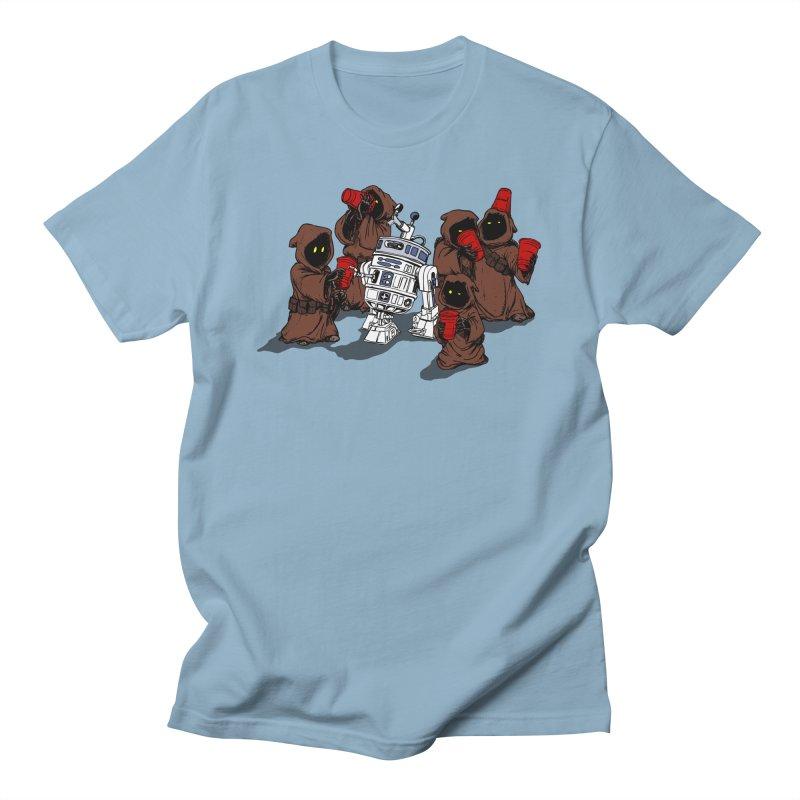 Tap That Droid Men's Regular T-Shirt by Jerkass Clothing Co.
