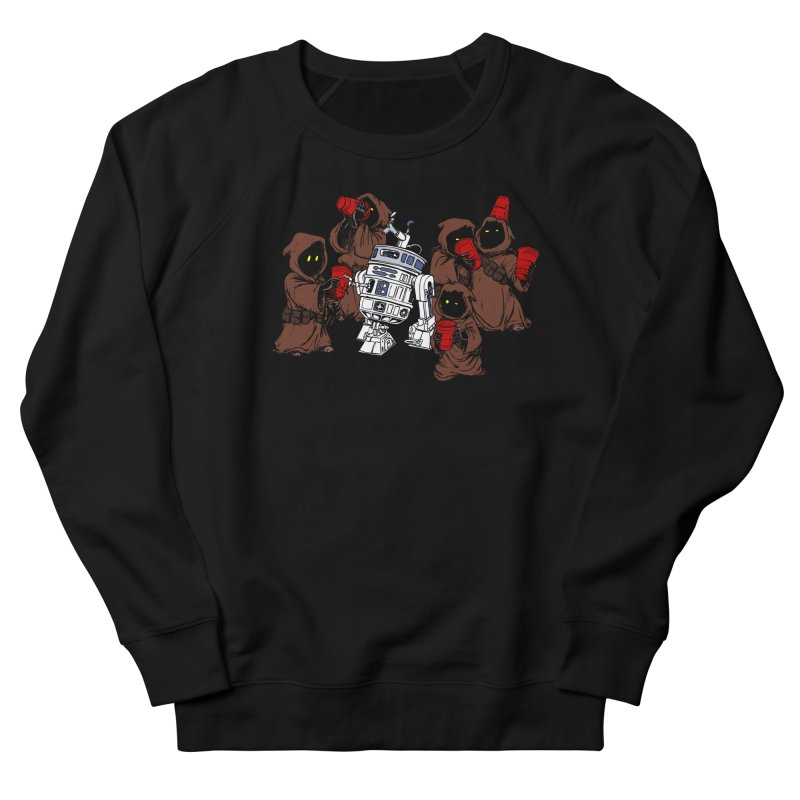 Tap That Droid Women's French Terry Sweatshirt by Jerkass Clothing Co.
