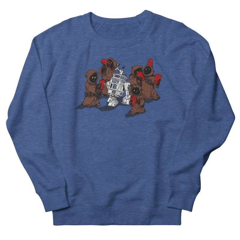 Tap That Droid Men's French Terry Sweatshirt by Jerkass