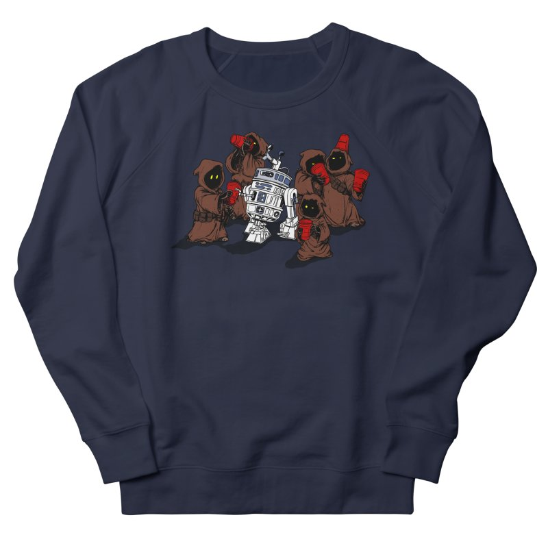 Tap That Droid Men's French Terry Sweatshirt by Jerkass Clothing Co.