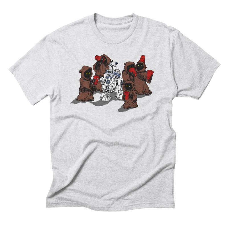 Tap That Droid Men's Triblend T-Shirt by Jerkass Clothing Co.