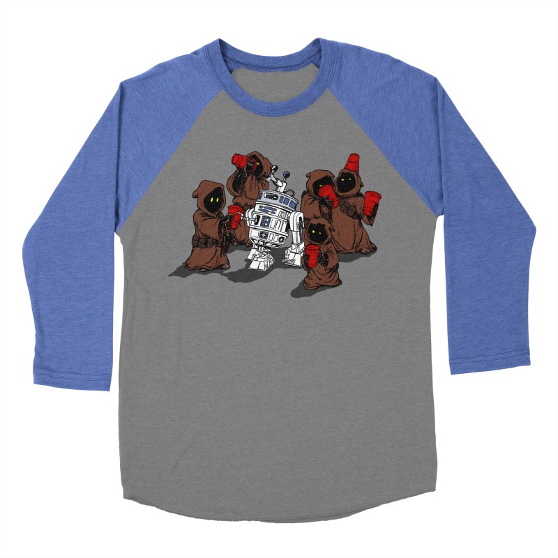 Tap That Droid Women's Baseball Triblend T-Shirt by Jerkass Clothing Co.