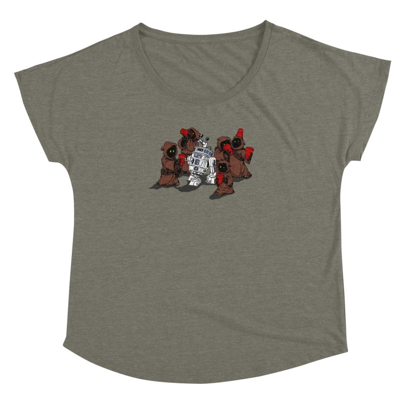 Tap That Droid Women's Dolman by Jerkass Clothing Co.
