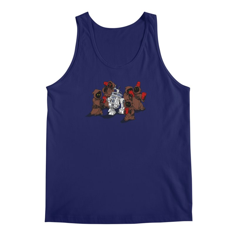 Tap That Droid Men's Regular Tank by Jerkass Clothing Co.