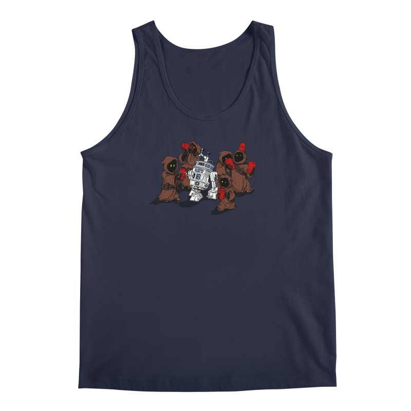 Tap That Droid Men's Tank by Jerkass Clothing Co.