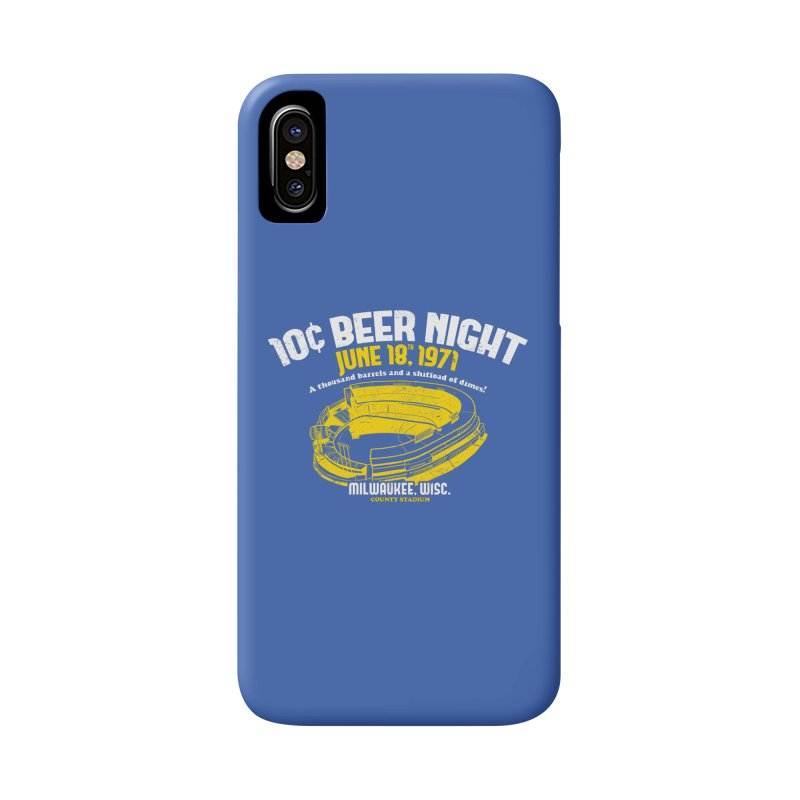 10 Cent Beer Night County Stadium Accessories Phone Case by Jerkass Clothing Co.