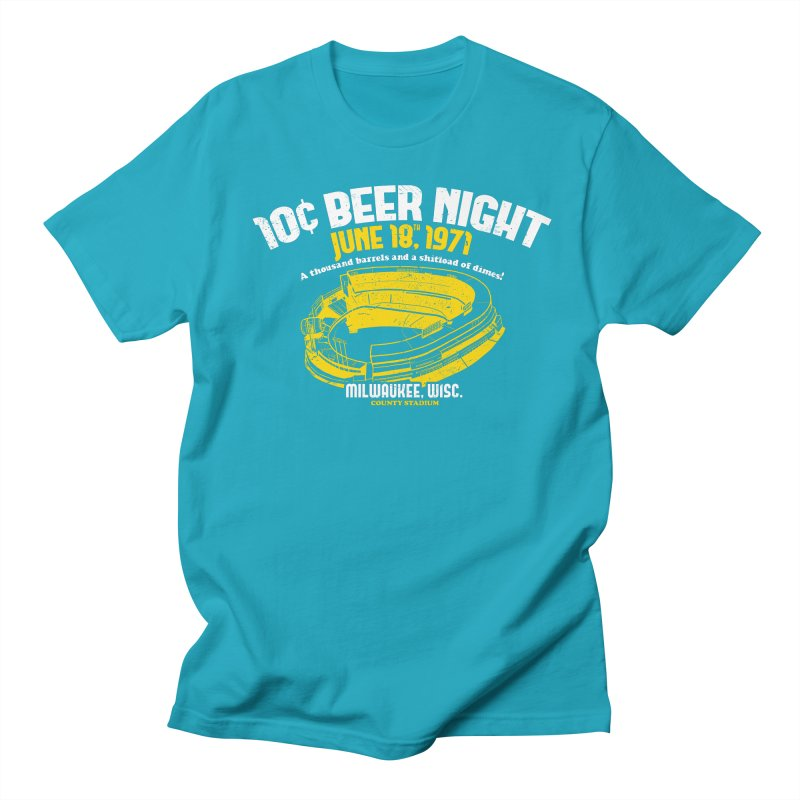 10 Cent Beer Night County Stadium Women's T-Shirt by Jerkass