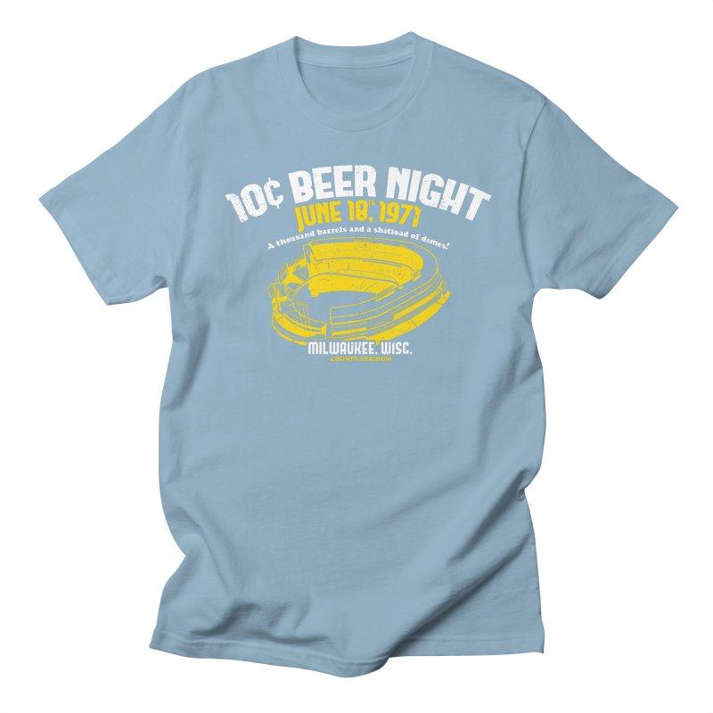 10 Cent Beer Night County Stadium Women's Regular Unisex T-Shirt by Jerkass