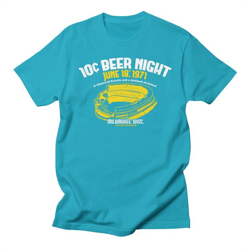 10 Cent Beer Night County Stadium Women's Regular Unisex T-Shirt by Jerkass Clothing Co.
