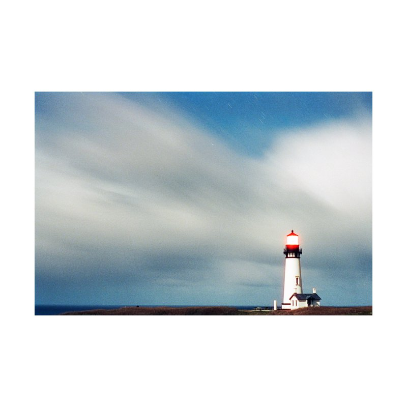 Yaquina Lighthouse Home Fine Art Print by Jesse Armour Photography and Design