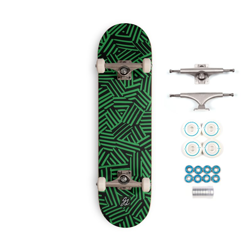 Hatchwork Accessories Complete - Basic Skateboard by Jesse Giffin's Artist Shop