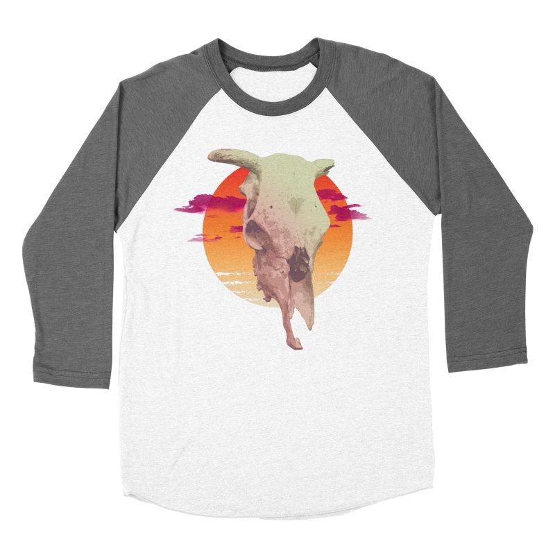 Desert Heat Women's Baseball Triblend Longsleeve T-Shirt by Jesse Giffin's Artist Shop