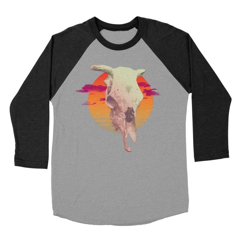 Desert Heat Men's Baseball Triblend Longsleeve T-Shirt by Jesse Giffin's Artist Shop