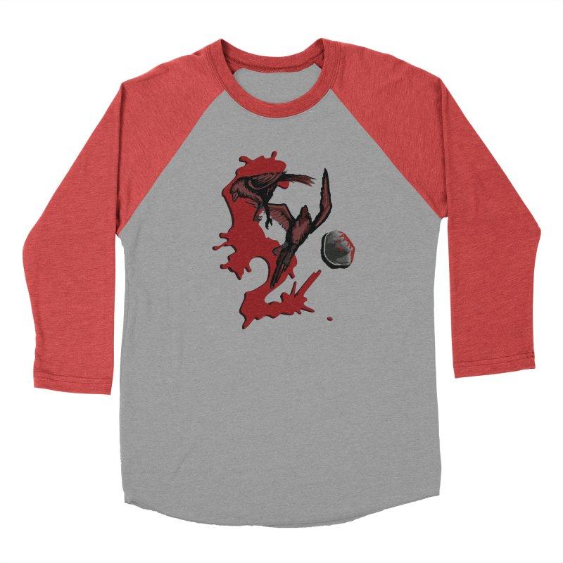 Two Birds Men's Baseball Triblend Longsleeve T-Shirt by Jesse Giffin's Artist Shop