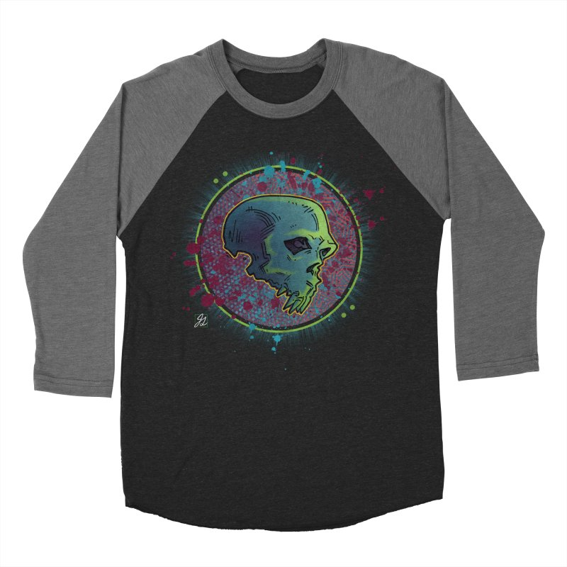 Neon Shadows Women's Baseball Triblend Longsleeve T-Shirt by Jesse Giffin's Artist Shop