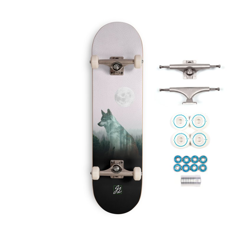 Exposed Accessories Complete - Basic Skateboard by Jesse Giffin's Artist Shop