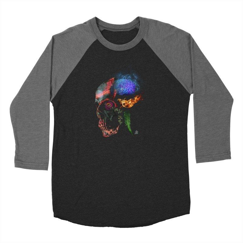 De-Comp Women's Baseball Triblend Longsleeve T-Shirt by Jesse Giffin's Artist Shop