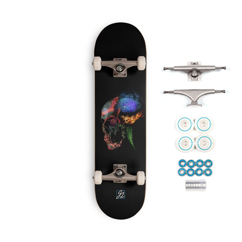 De-Comp Accessories Complete - Basic Skateboard by Jesse Giffin's Artist Shop