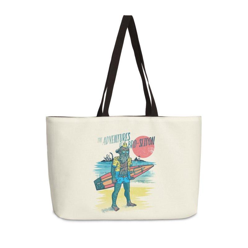 The Adventures of Bro-Seidon Accessories Weekender Bag Bag by Jesse Nickles
