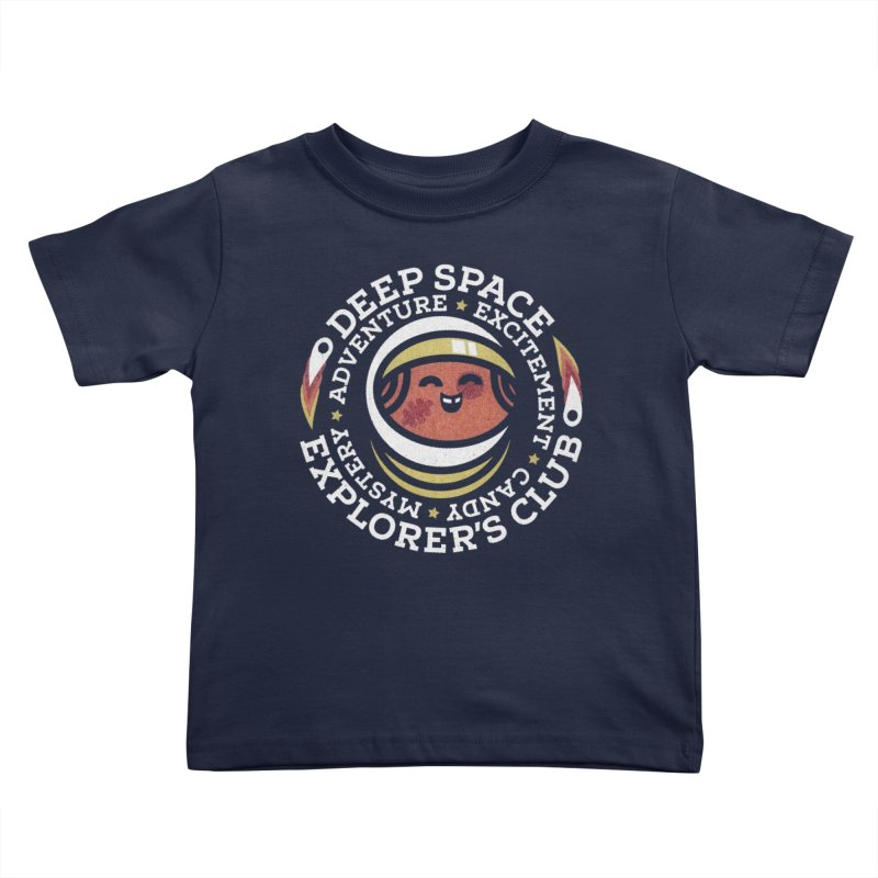 Deep Space Explorer's Club Kids Toddler T-Shirt by Jesse Nickles