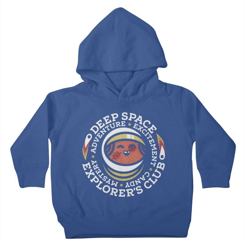 Deep Space Explorer's Club Kids Toddler Pullover Hoody by Jesse Nickles