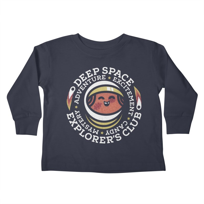 Deep Space Explorer's Club Kids Toddler Longsleeve T-Shirt by Jesse Nickles
