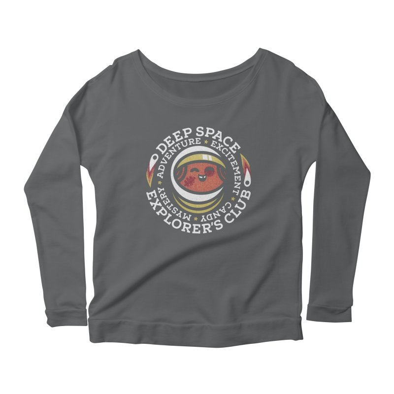 Deep Space Explorer's Club Women's Scoop Neck Longsleeve T-Shirt by Jesse Nickles