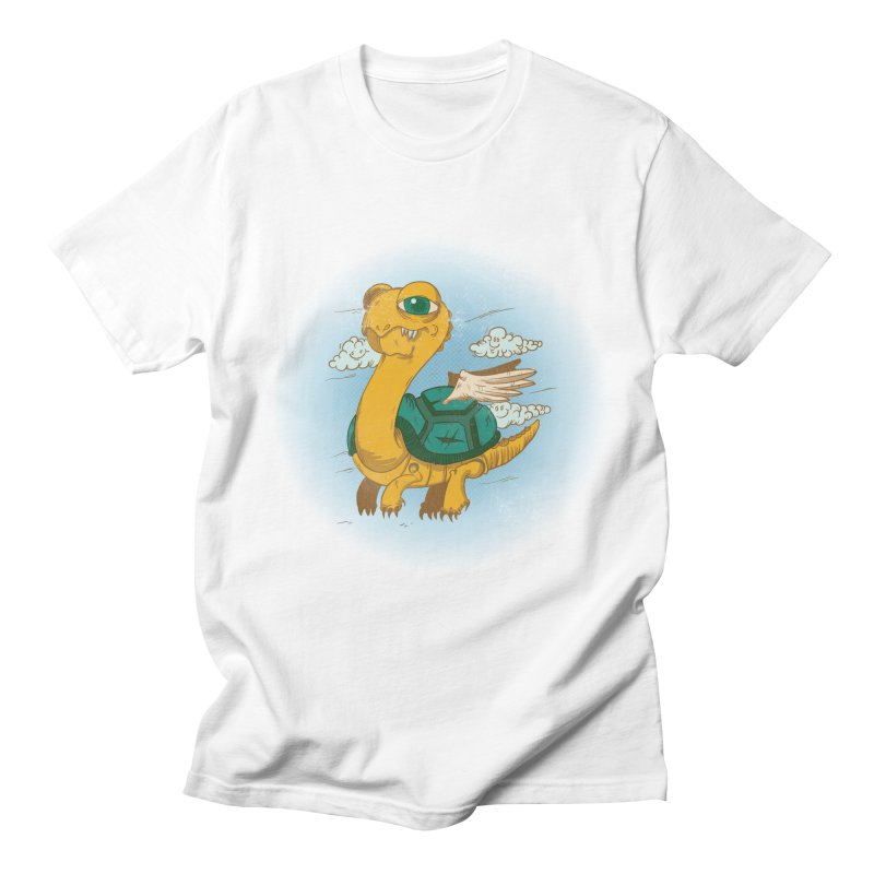 Flight of the Turtle Men's Regular T-Shirt by Jesse Nickles