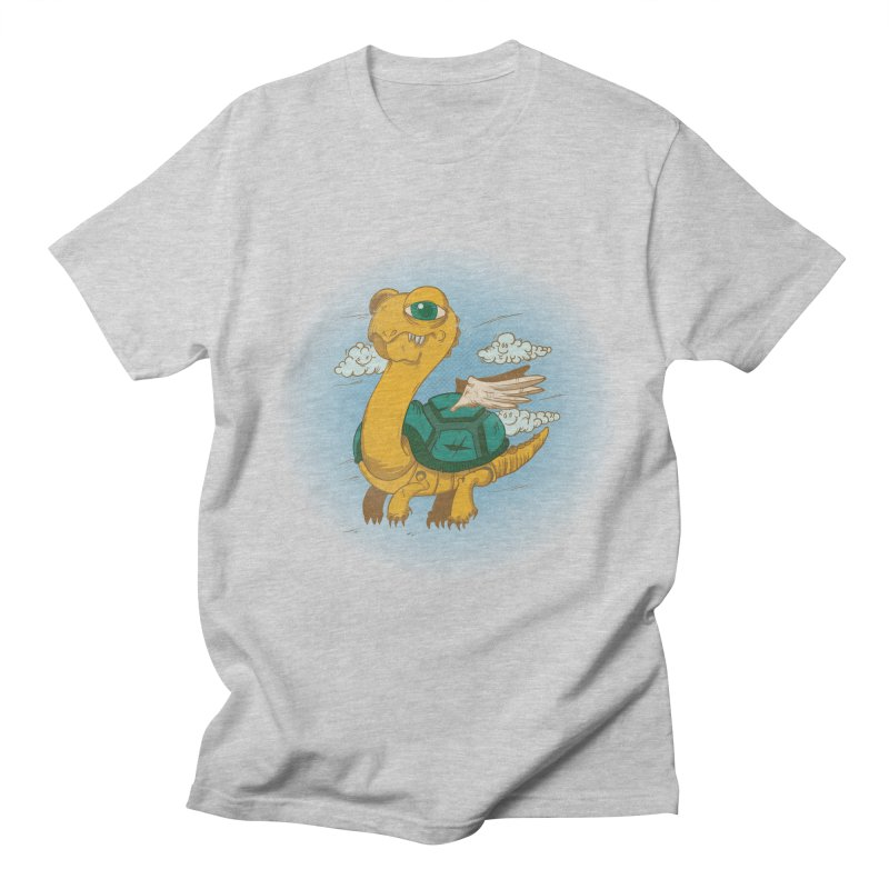 Flight of the Turtle Men's T-shirt by Jesse Nickles