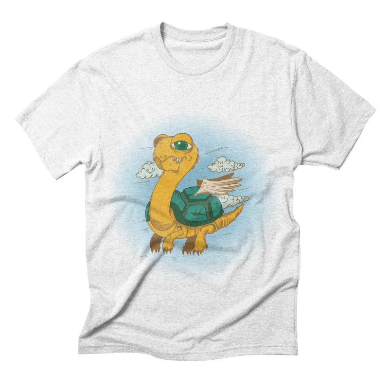Flight of the Turtle Men's Triblend T-shirt by Jesse Nickles
