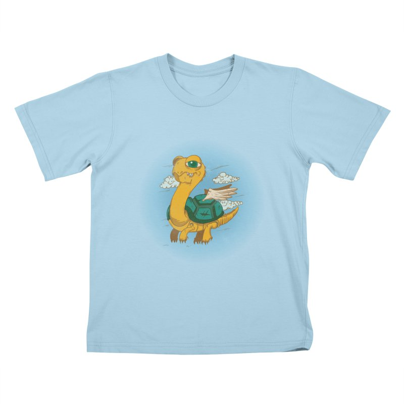Flight of the Turtle Kids T-Shirt by Jesse Nickles