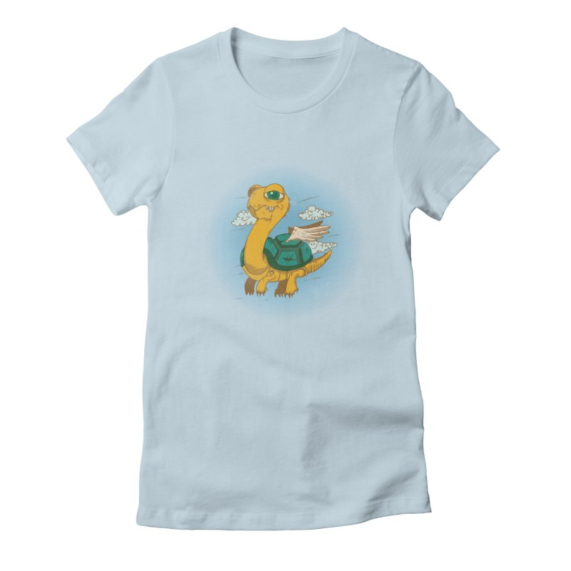 Flight of the Turtle Women's T-Shirt by Jesse Nickles