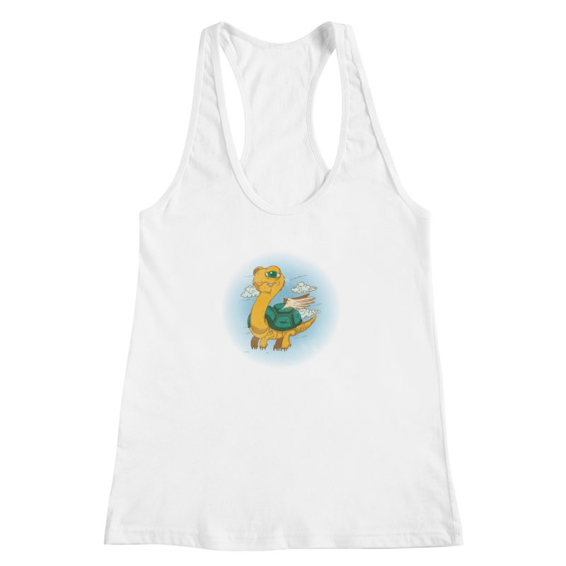 Flight of the Turtle Women's Racerback Tank by Jesse Nickles
