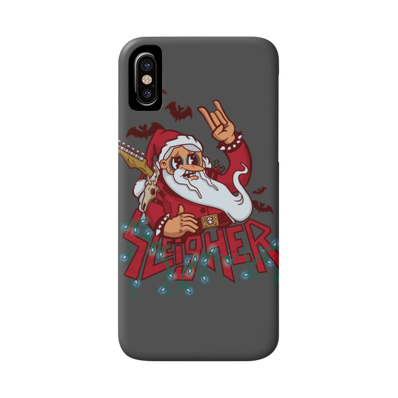 Christmas Sleigher Accessories Phone Case by Jesse Nickles
